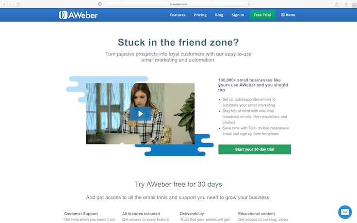 aweber for amazon sellers