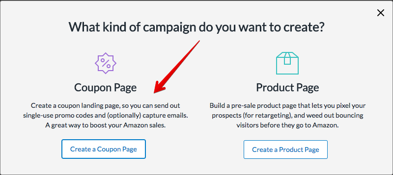 How to Create Single Use Amazon Promo Codes - LandingCube