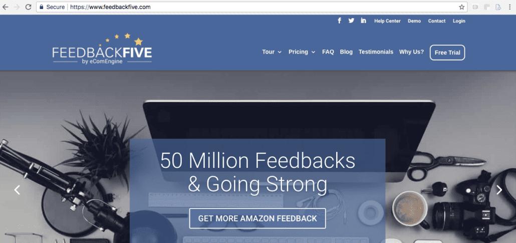 Amazon feedback software FeedbackFive