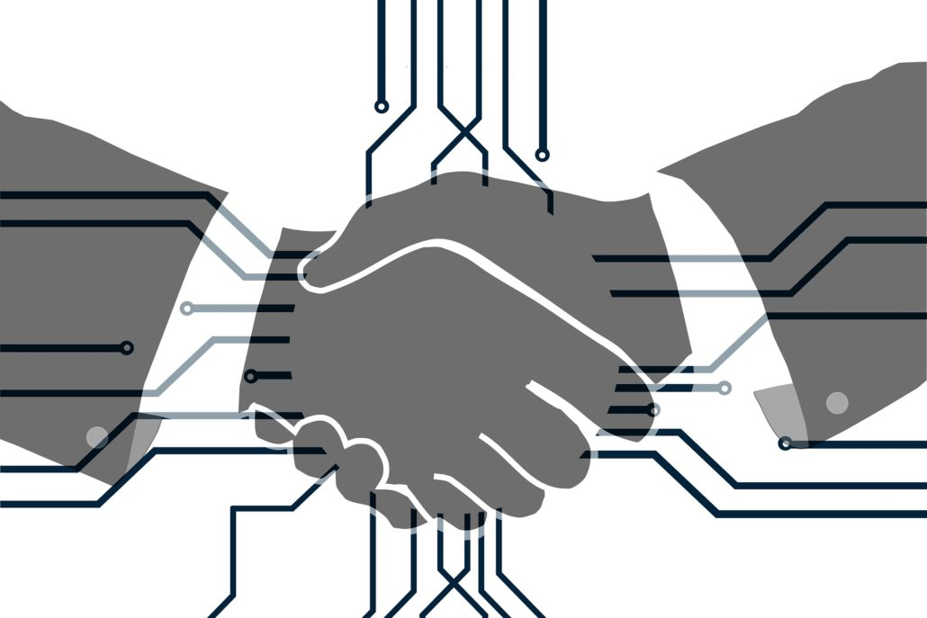 Social Influencer Handshake