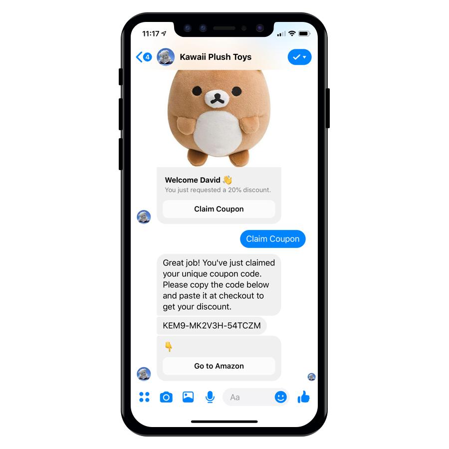 Introducing Facebook Messenger Bots for Amazon Sellers - LandingCube