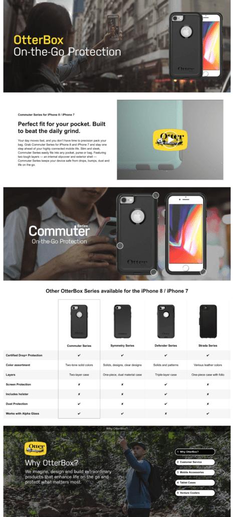 Otterbox Enhanced Brand Content
