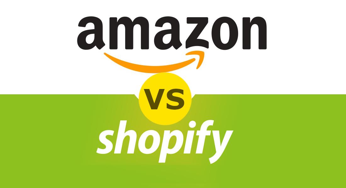 Amazon vs Shopify header image